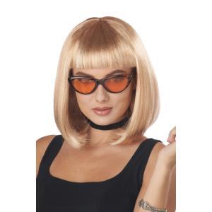 ブロンド ボブ ショート ウィッグ、かつら 大人女性用 90年代 ディスコ 90'S PRETTY ...