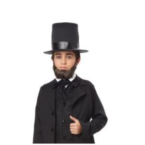紳士 付け髭 子供用 ブラウン ヨーロッパ HONEST ABE BEARD / CHILD|amecos