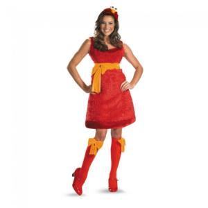 エルモ セサミストリート 衣装、コスチューム 大人女性用 Elmo Sassy Adult Female|amecos