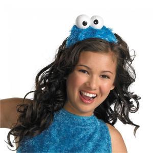 クッキーモンスター セサミストリート ヘッドピース 子供女性用 Cookie Monster Headband|amecos