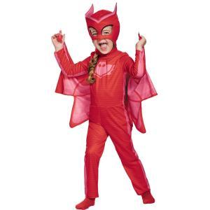 アウレット しゅつどう!パジャマスク 衣装、コスチューム 子供女性用 コスプレ OWLETTE CLASSIC TODDLER amecos