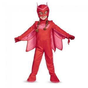 アウレット しゅつどう!パジャマスク PJマスク 衣装、コスチューム 子供女性用 Owlette Deluxe Toddler amecos