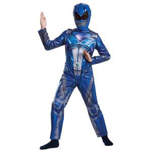 ブルーレンジャー パワーレンジャー 衣装、コスチューム 子供男性用 BLUE RANGER 2017 CLASSC CH|amecos