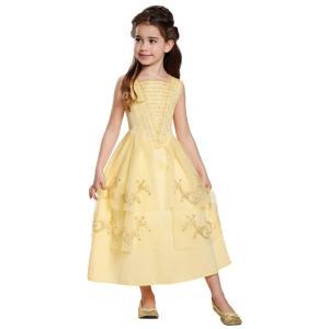 ベル 美女と野獣 衣装、コスチューム 子供女性用 コスプレ BELLE BALL GOWN CLASSIC amecos