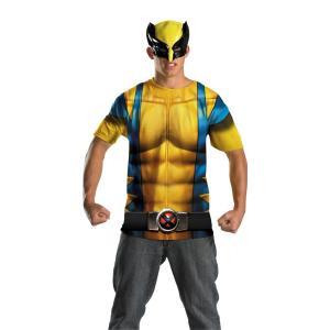 ウルヴァリン X-MEN 大人男性用 衣装、コスチューム コスプレ WOLVERINE ALT NO SCARS|amecos