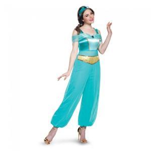 ジャスミン アラジン ディズニー 衣装、コスチューム 大人女性用 コスプレ amecos