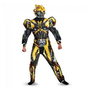 バンブルビー トランスフォーマー 衣装、コスチューム 大人男性用 Bumblebee Deluxe Adult amecos