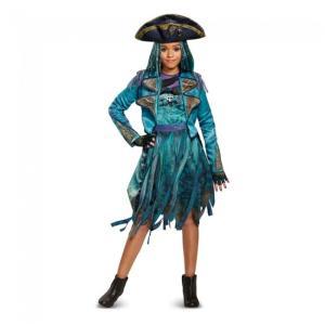 ディセンダント ウーマ 衣装、コスチューム 子供女性用 デラックス ディズニー amecos