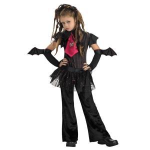 コウモリ  衣装、コスチューム 子供女性用 BAT CHICK CHILD|amecos