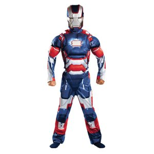 アイアンパトリオット アイアンマン 衣装、コスチューム 子供男性用 IRON PATRIOT CLASSC MUSC|amecos