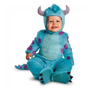 サリー モンスターズインク 衣装、コスチューム ベビー用 仮装 Sulley Classic Infant amecos