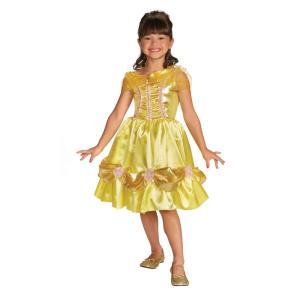 ベル 美女と野獣 衣装、コスチューム 子供女性用 BELLE SPARKLE CHILD CLASSIC amecos