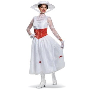 メリーポピンズ 衣装、コスチューム 大人女性用 Deluxe ディズニー