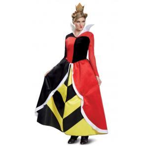 ディズニー『ふしぎの国のアリス』に登場する『ハートの女王』のDeluxe版大人女性用コスチュームです...