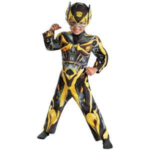 バンブルビー トランスフォーマー 衣装、コスチューム 子供男性用 コスプレ BUMBLEBEE TODDLER MUSCLE amecos