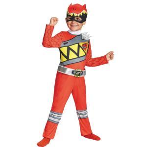 レッドレンジャー パワーレンジャー・ダイノチャージ 衣装、コスチューム 子供男性用 コスプレ RED RANGER DINO CLASSIC|amecos