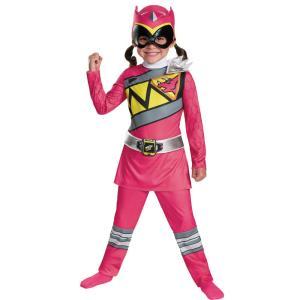 ピンクレンジャー パワーレンジャー・ダイノチャージ 衣装、コスチューム 子供女性用 PINK RANGER DINO CLASSIC|amecos