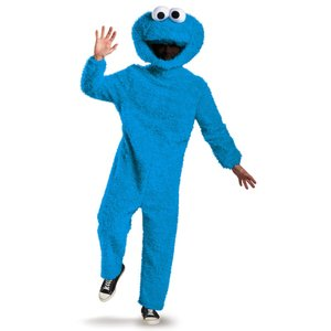 クッキーモンスター 衣装、コスチューム 大人男性用 Prestige セサミストリート ハロウィン|amecos