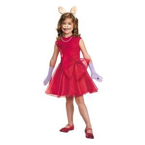 ミス・ピギー セサミストリート 衣装、コスチューム 子供女性用 MISS PIGGY CHILD|amecos