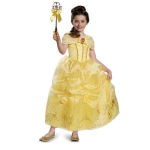 ベル 衣装、コスチューム 子供女性用 Prestige 美女と野獣 ディズニー ハロウィン amecos