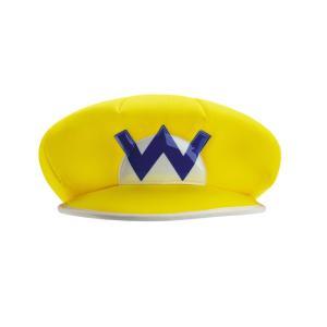ワリオ 帽子 スーパーマリオ 子供用 ハロウィン|amecos