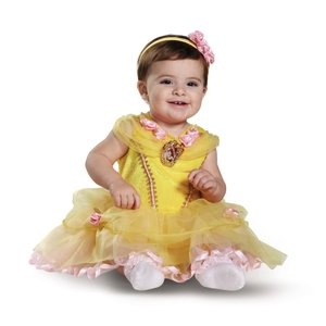ベル ベビー用衣装、コスチューム 美女と野獣 ディズニー ハロウィン amecos