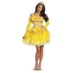 ベル ドレス 衣装 、コスチューム 大人女性用 美女と野獣 ディズニー amecos
