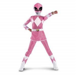 パワーレンジャー ピンクレンジャー 衣装、コスチューム コスプレ 子供女性用|amecos