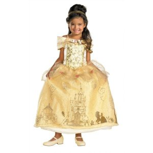 ベル ドレス、衣装 、コスチューム Prestige 子供用 ディズニー 美女と野獣 amecos