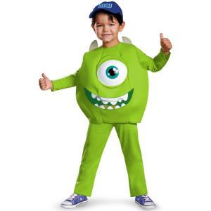 マイク 衣装 、コスチューム 子供男性用 モンスターズ・ユニバーシティー モンスターズインク Monsters U Sulley amecos