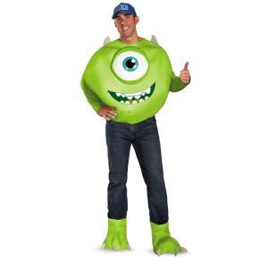 マイク 衣装 、コスチューム 大人男性用 DLX モンスターズ・ユニバーシティー モンスターズインク Monsters University Mike amecos
