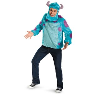サリー 衣装 、コスチューム 大人男性用 DLX モンスターズ・ユニバーシティー モンスターズインク amecos