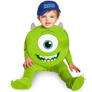 マイク 衣装、コスチューム ベビー用 ディズニー モンスターズインク Monsters U Mike amecos