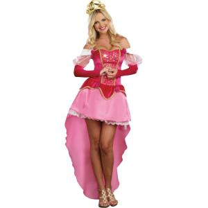 お姫様 スリーピング・プリンセス 衣装、コスチューム 大人女性用 オーロラ姫風|amecos