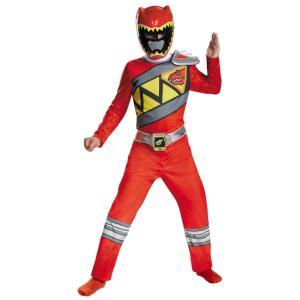 パワーレンジャー 衣装、コスチューム CLASSIC 子供男性用 戦隊 レッド RED RANGER DINO|amecos