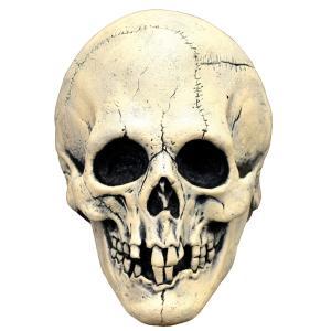 スカル ラテックス フルマスク 大人用 骸骨 ドクロ ホラーマスク amecos