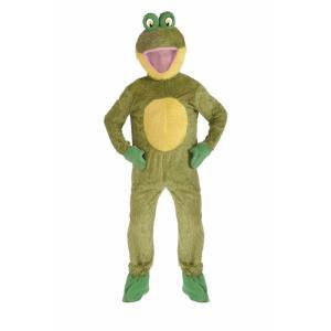カエル 蛙 衣装、コスチューム 大人男性用 着ぐるみ FROG|amecos