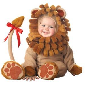 小さなライオン 衣装 、コスチューム ベビー着ぐるみ ベビー用 HQ amecos