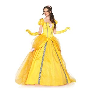 ベル 衣装 、コスチューム DLX 大人女性用 美女と野獣 ディズニー Belle|amecos