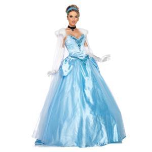 シンデレラ 衣装 、コスチューム DLX 大人女性用 ディズニー Princess Cinderel...