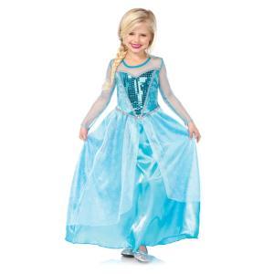エルサ風 お姫様 衣装、コスチューム 子供女性用 雪の女王|amecos