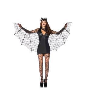 コウモリ コスチューム 大人女性用 3 PC. Moonlight Bat|amecos