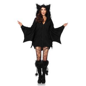 コウモリ コスチューム 大人女性用 Cozy Bat|amecos