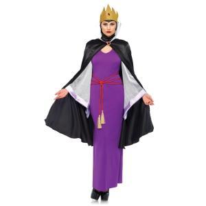 女王 コスチューム 「白雪姫」 大人女性用 4 PC. Deadly Dark Queen|amecos