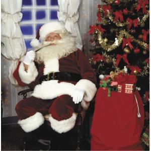 クリスマス サンタクロース 衣装 、コスチューム 大人男性用 CRIMSON IMPERIAL 濃赤...