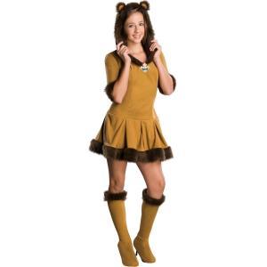ライオン オズの魔法使い 衣装 、コスチューム ティーン用 童話 コスプレ amecos