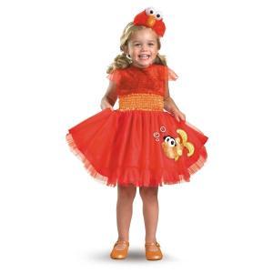 セサミストリート エルモ 衣装 、コスチューム ドレス 子供女性用 Elmo|amecos