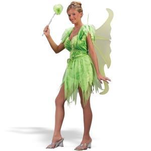 ティンカーベル風 衣装 、コスチューム 大人女性用 妖精 ドレス Neverland Fairy|amecos