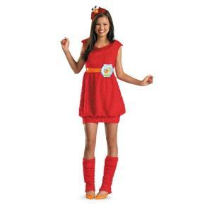 エルモ 衣装 、コスチューム 子供女性用 セサミストリート Elmo|amecos