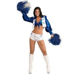 チアガール セクシー 衣装 、コスチューム DLX 大人女性用 Dallas Cowboys|amecos